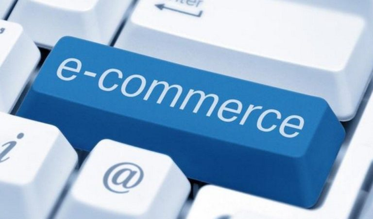touche de clavier montrant l'expression e-commerce